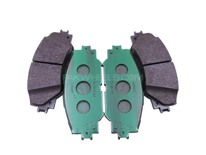Toyota Corolla 2002-2008 Genuine Front Disk Pads Image-1