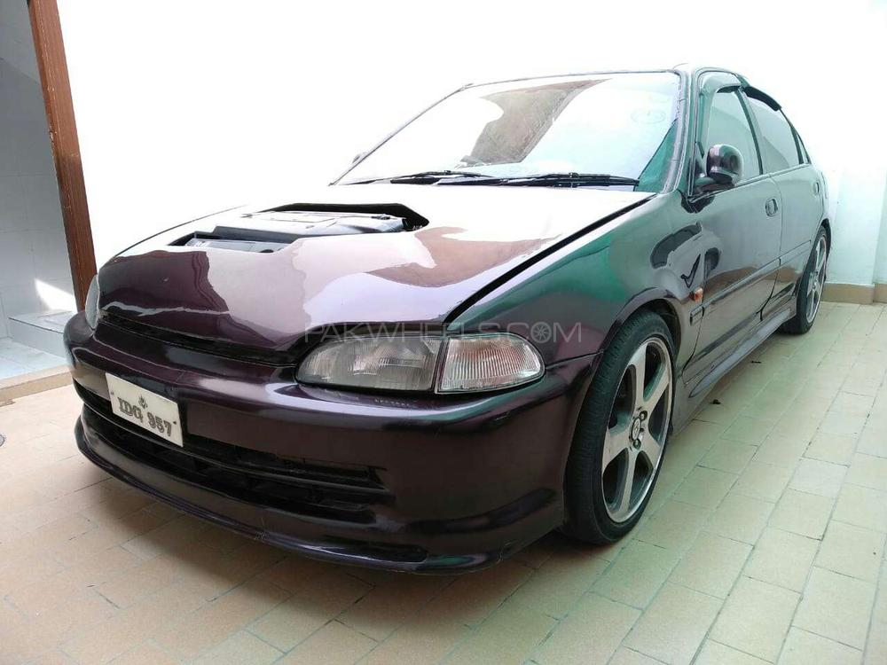 honda civic 1995 for sale in lahore pakwheels. Black Bedroom Furniture Sets. Home Design Ideas