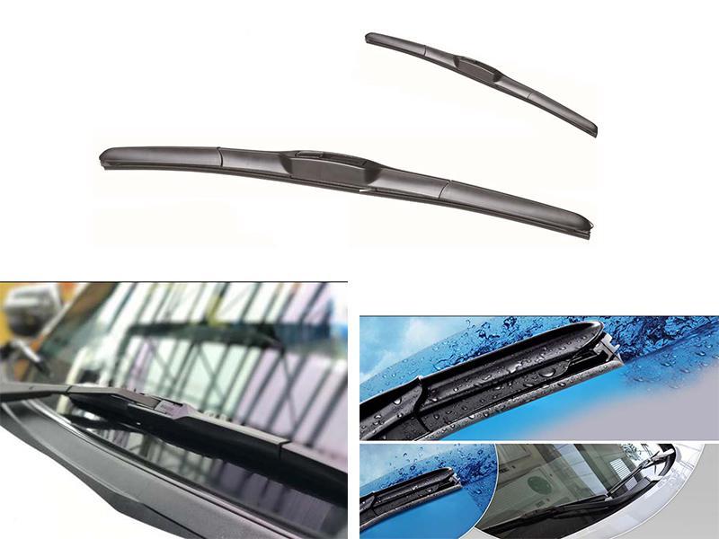 Soft Wipe Hybrid Viper Blades Set For Toyota Corolla - 2003-2008 Image-1