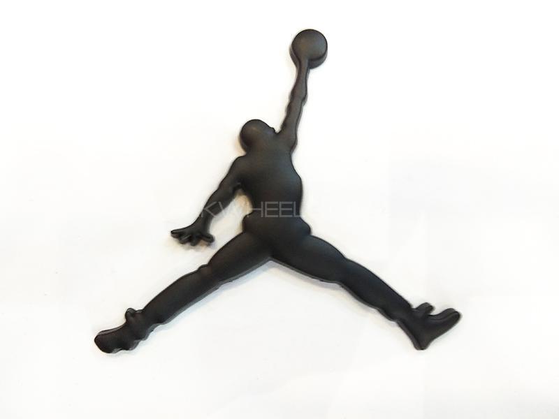 Basket Ball Men Metal Logo Image-1