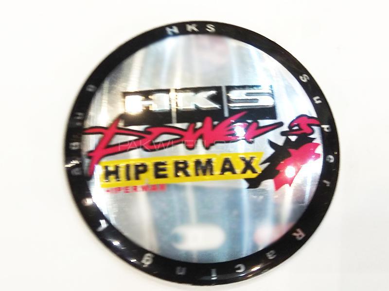 HKS Rim Cap Sticker  Image-1