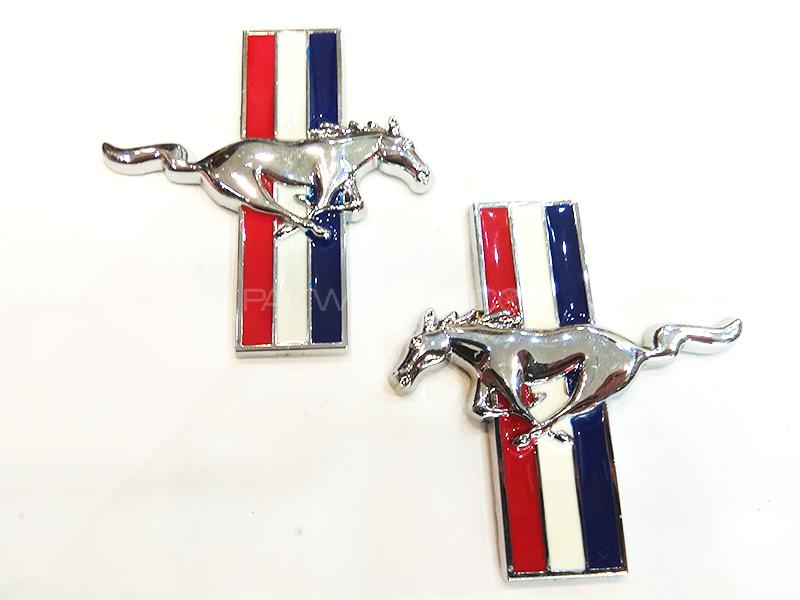 Horse Metal Logo - Silver  Image-1