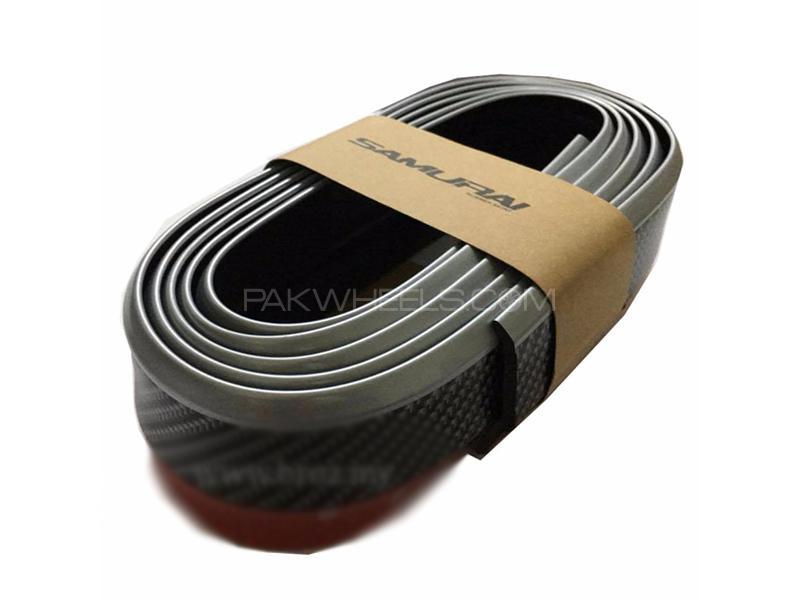 Universal Carbon Rubber Lip - Black  Image-1