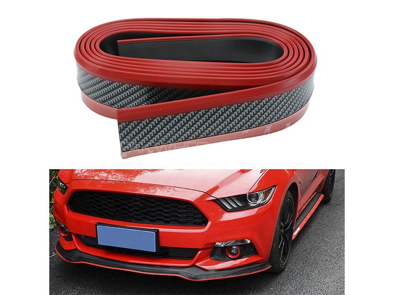 Universal Carbon Rubber Lip - Red Image-1