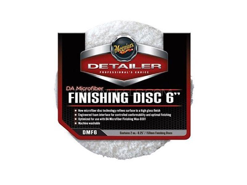 """Meguiar's Da Microfiber Finishing Disc 6"""" (2 Pack) in Lahore"""