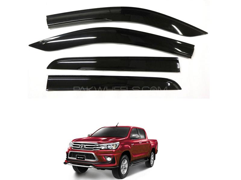 Sun Visor Black For Toyota Hilux Revo 2016-2019  in Karachi