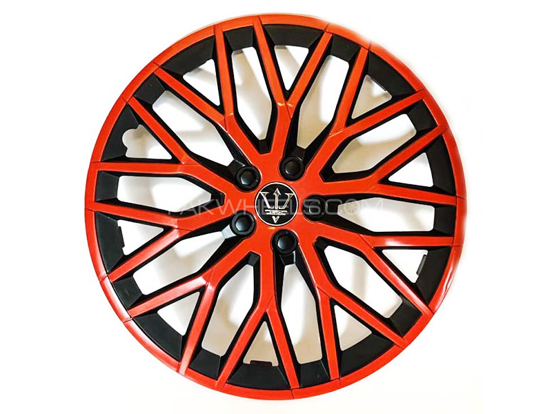 "X8 Wheel Cover Evo Red & Black S1 15"" in Lahore"