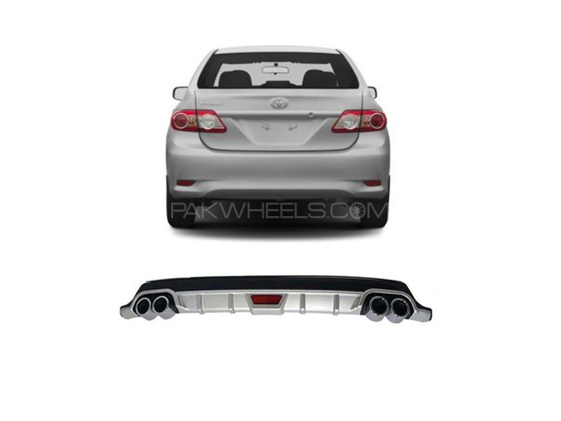 Toyota Corolla 2012-2014 Rear Bumper Diffuser