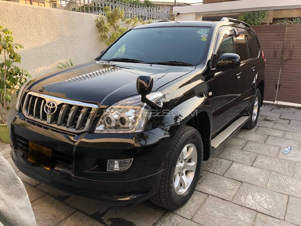 Toyota Prado Tz 4 0 2008 For Sale In Islamabad Pakwheels