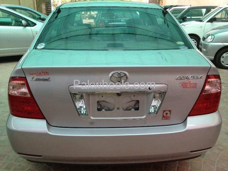 Toyota Corolla Luxel Premium Edition 2006 Image-9