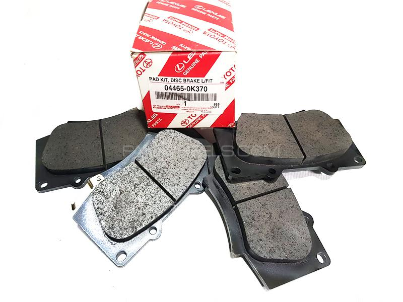 Toyota Genuine Brake Pad Set Front For Toyota Fortuner 2018 Image-1