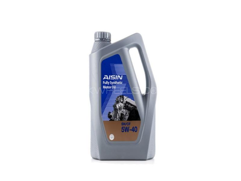 Aisin SN/CF 5w40 Fully Synthetic Engine Oil 1L Image-1