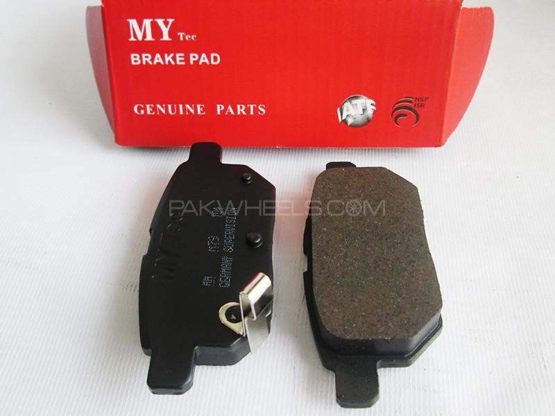 MyTec Disk Pad Mitsubishi Pajero 1999-2006 Image-1