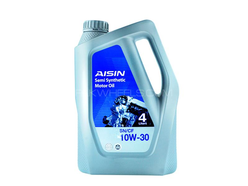Aisin SN 10w30 Semi Synthetic Engine Oil 4L Image-1