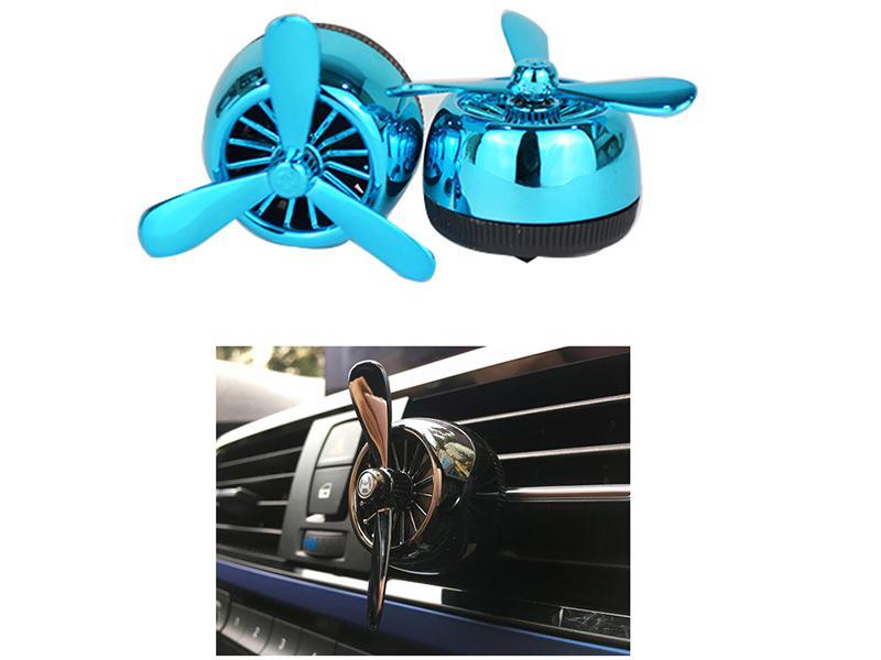 Aircraft Vent Clip Air Freshener - Blue Image-1
