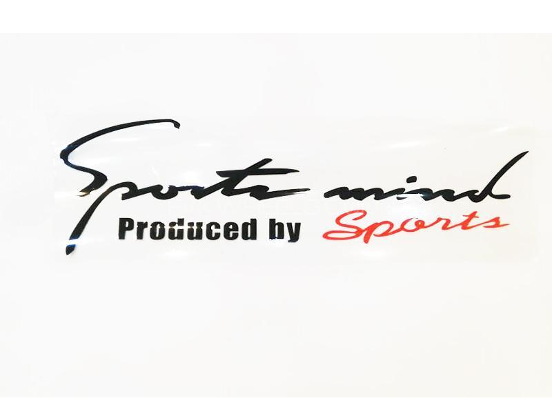 Sports Mind Sticker  Image-1