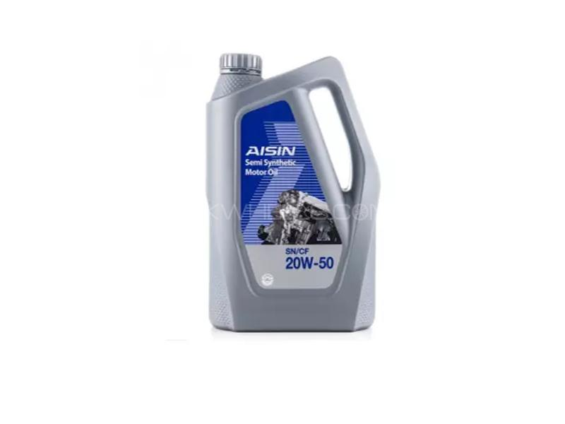 Aisin SN 20w50 Semi Synthetic Engine Oil 3L Image-1