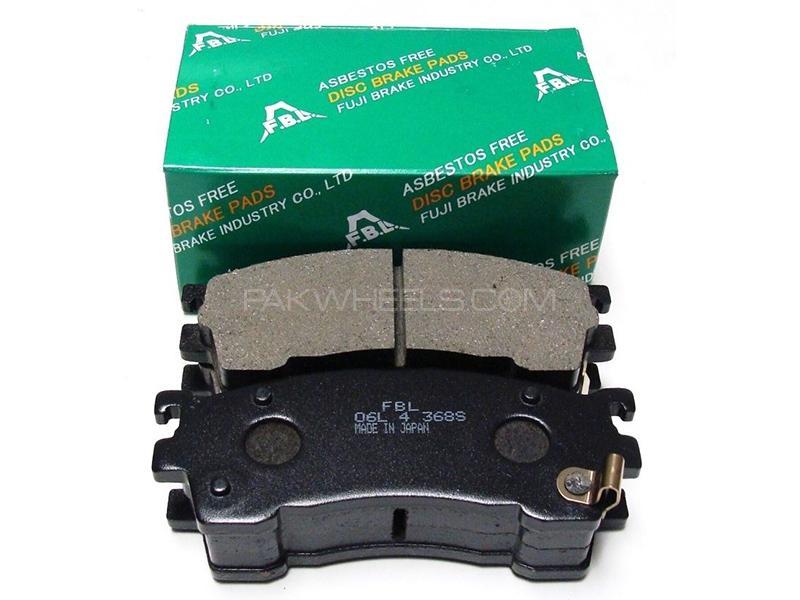 FBL Japan Front Brake Pads For Nissan AD 1999-2005 Image-1