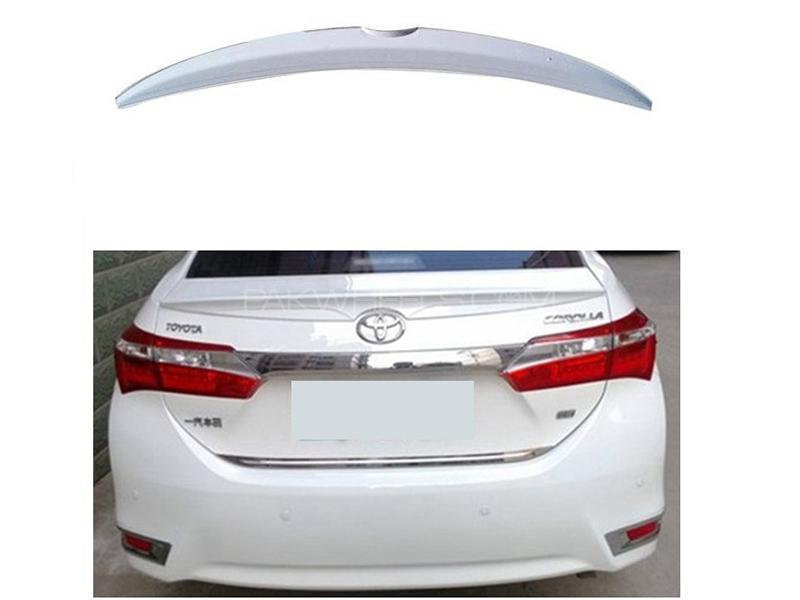 Trunk Spoiler For Toyota Corolla 2014-2018 Image-1