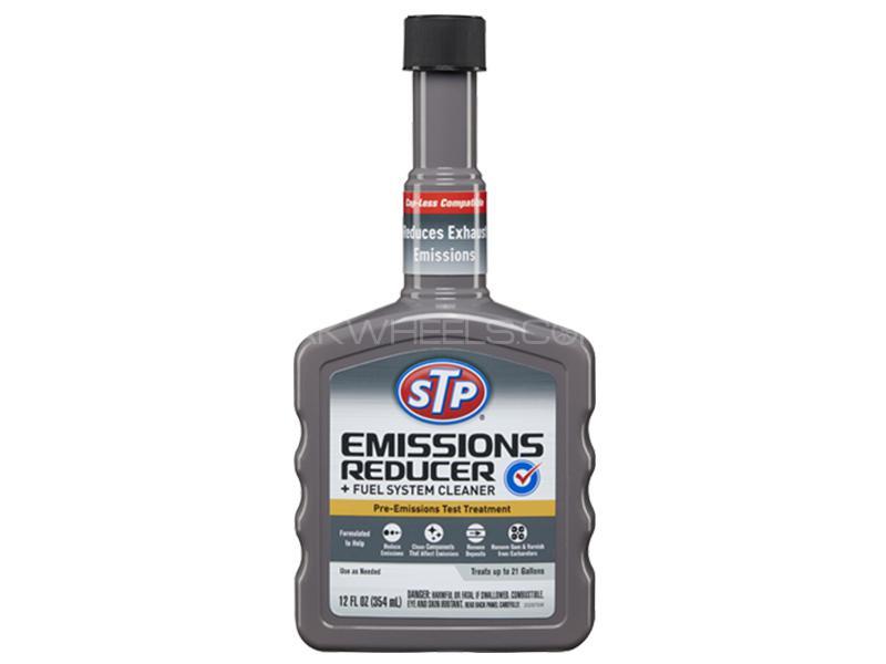 STP Emissions Reducer Fuel System Cleaner Petrol - 400ml Image-1