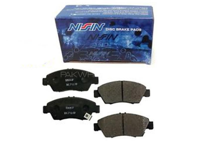 Nissin Front Brake Pad For Honda City 2000-2003 Image-1