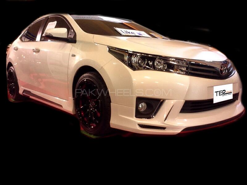 Kantara Style Body Kit Plastic For Toyota Corolla 2014-2016 Image-1