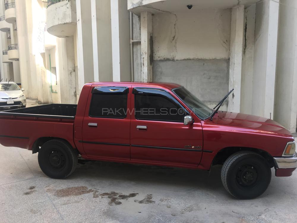 Toyota Pickup 1992 For Sale In Islamabad Pakwheels