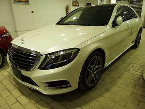 S 400 HYBIRD  2013 AMG SPORTS PACKAGE FULL OPTION TOP OF DA LINE , FRESH CLEARED ,