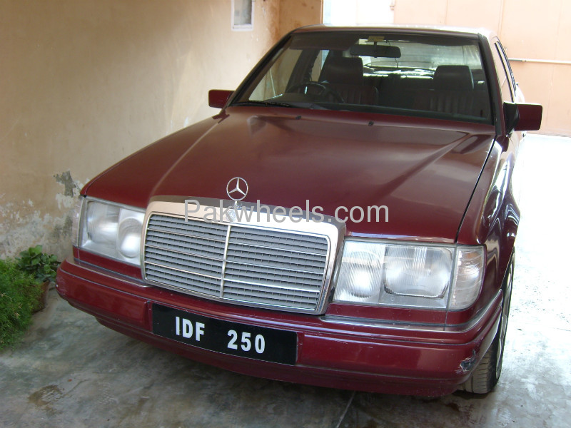 Mercedes benz e class e250 1988 for sale in peshawar for 1988 mercedes benz