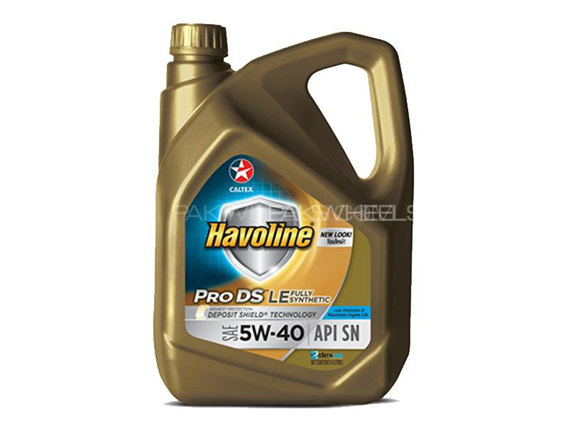 CALTEX Havoline ProDS Fully Synthetic LE SAE (5W-40) 4L  Image-1