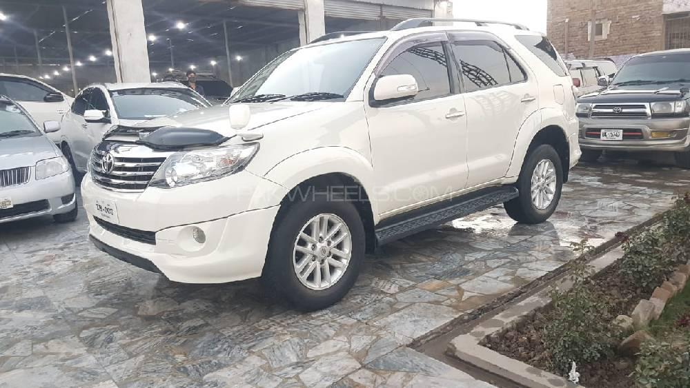 Toyota Fortuner TRD Sportivo 2013 Image-1