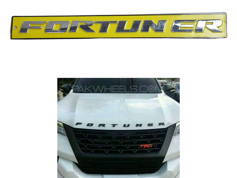 Toyota Fortuner Bonnet Sticker Image-1