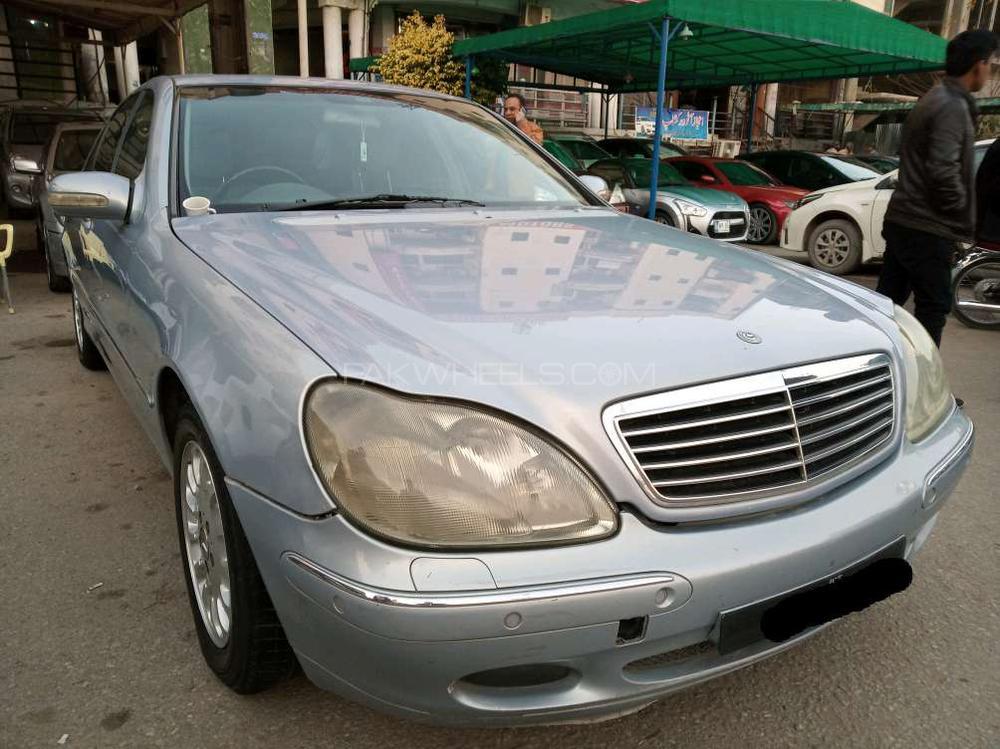 Mercedes Benz S Class S500 2002 Image-1