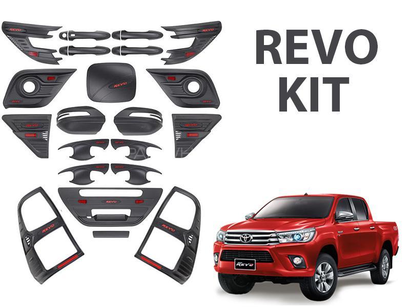 Complete Matt Black Kit For Toyota Revo 2016-2019 Image-1