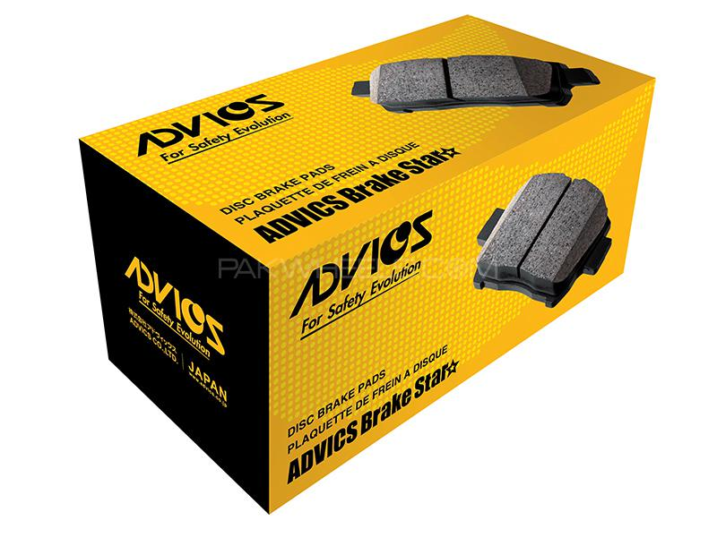 Advics Front Brake Pads For Toyota Vigo 4x2 2005-2016 - A1N135T Image-1