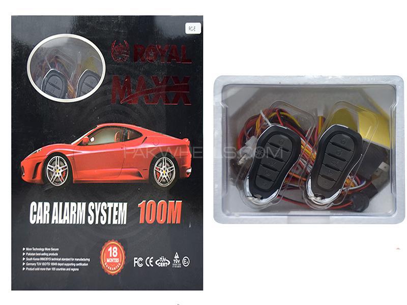 Royal Maxx Car Alarm System - RC-E Image-1
