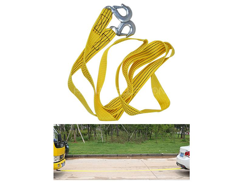 Car Tow Cable 3 Ton - 4 Meter Image-1