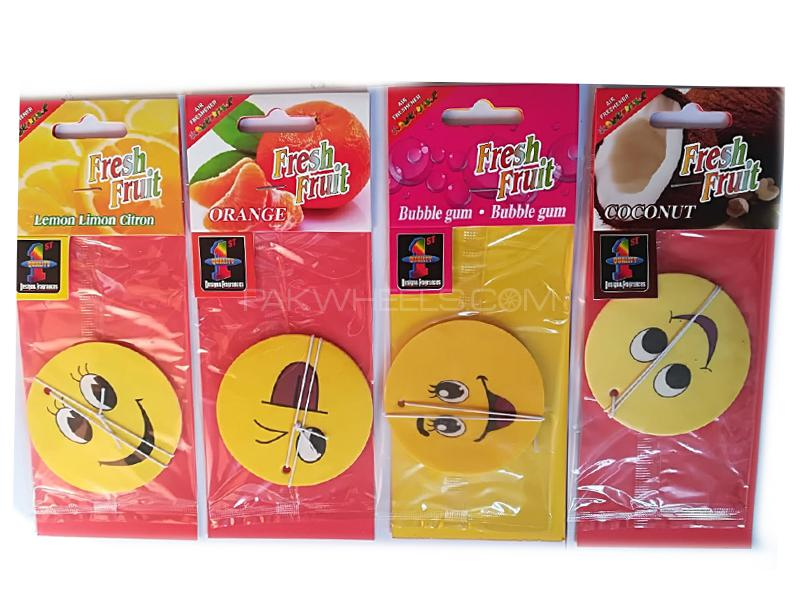 Emoji Air Freshener Pack of 4  Image-1