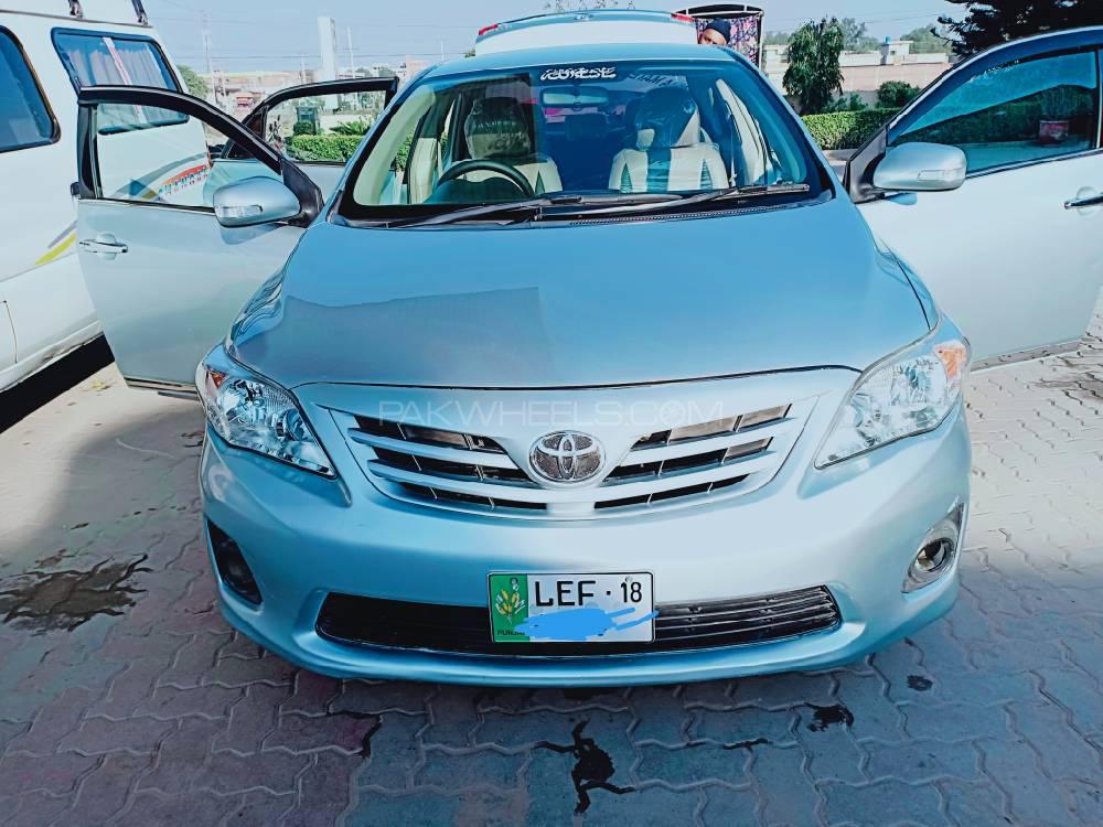 Toyota Corolla GLi 1.3 VVTi Ecotec  2014 Image-1