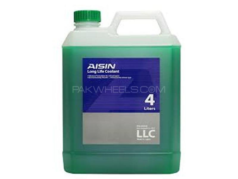 AISIN Anti-Freeze Coolant Green - 4 Litre Image-1