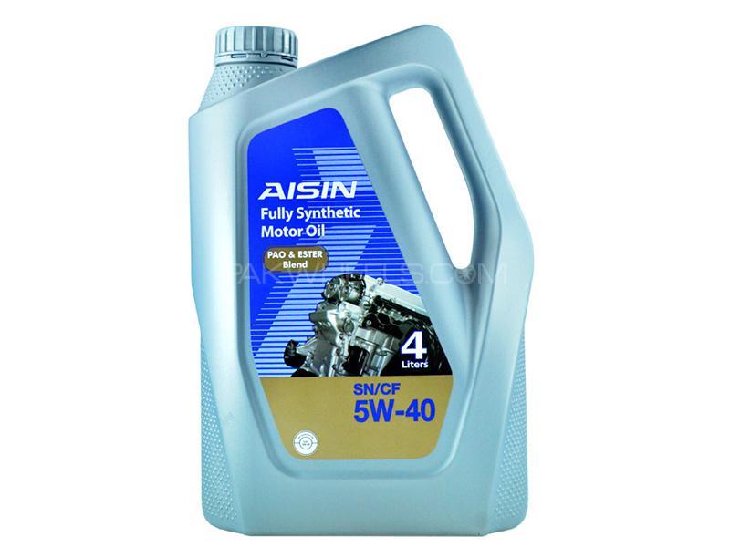 Aisin Ester Fully Synthetic 5W-40 - 4 Litre in Karachi
