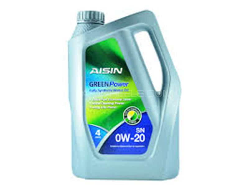 Aisin Fully Synthetic Green Ergy 0W-20 SN - 4 Litre Image-1
