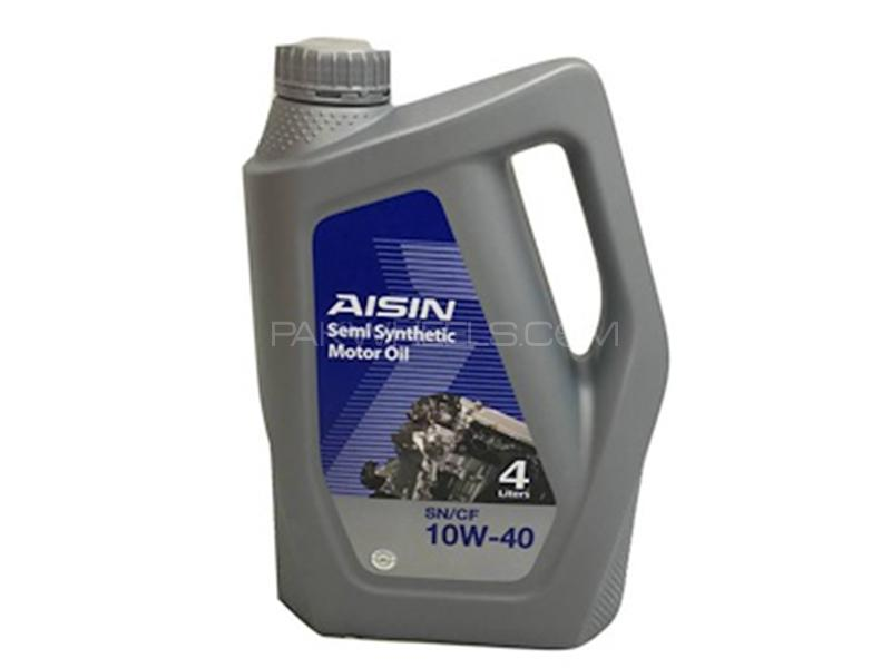 Aisin Semi Synthetic 10W-40 - 4 Litre Image-1
