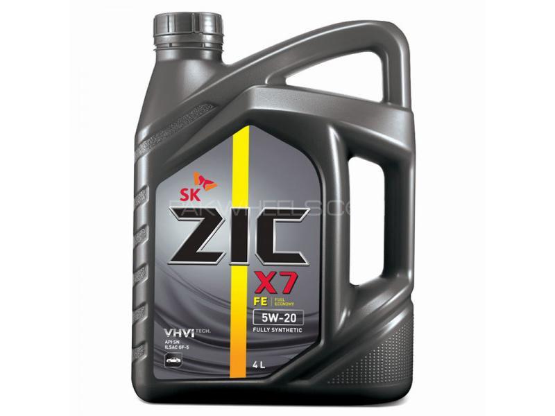 ZIC X7 5W-20 A+ SN ILSAC GF5 - 4 Litre Image-1