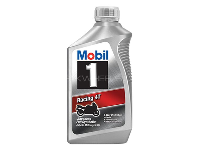 Mobil1 Racing 4T 10W-40 SN/CF - 1 Litre Image-1