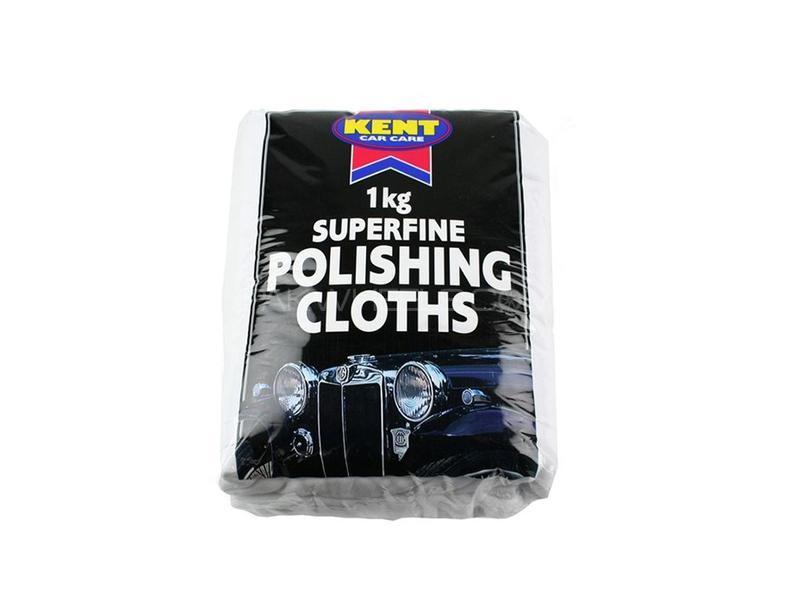 Kent White Cotton Polish Cloth 1Kg Image-1
