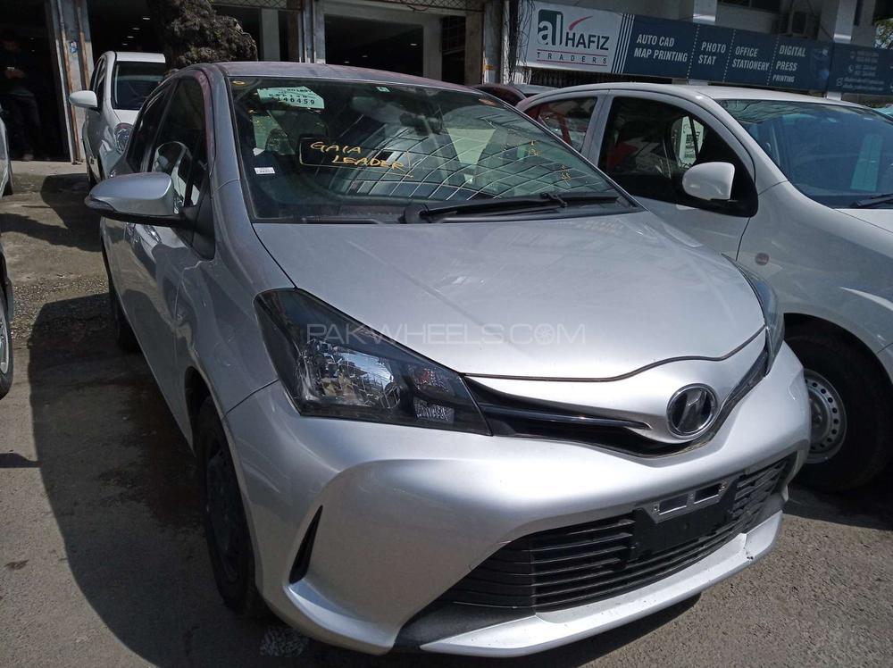 Toyota Vitz F 1.0 2015 Image-1