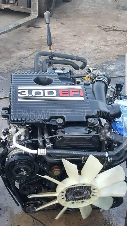used toyota hilux diesel engine