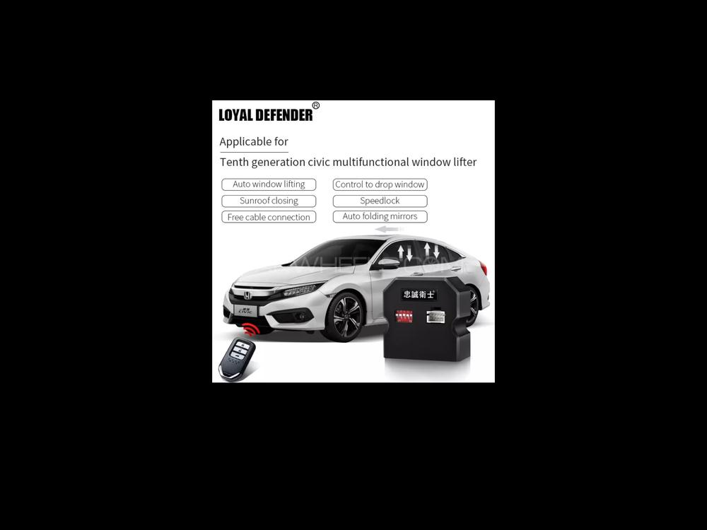 New Honda Civic 2016 to 2019 10th X generation Side Auto Mirror Folding Kit Device and 6 more option. Image-1