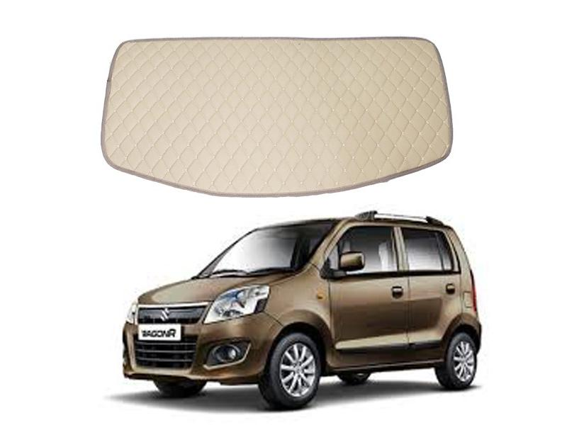 7D Trunk Mat For Suzuki Wagon R 2014-2017 Beige  in Lahore